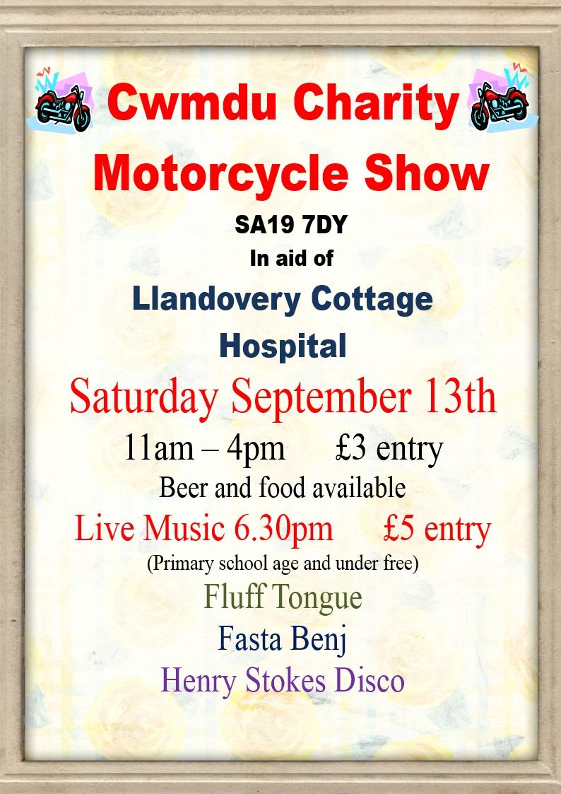 bike show poster