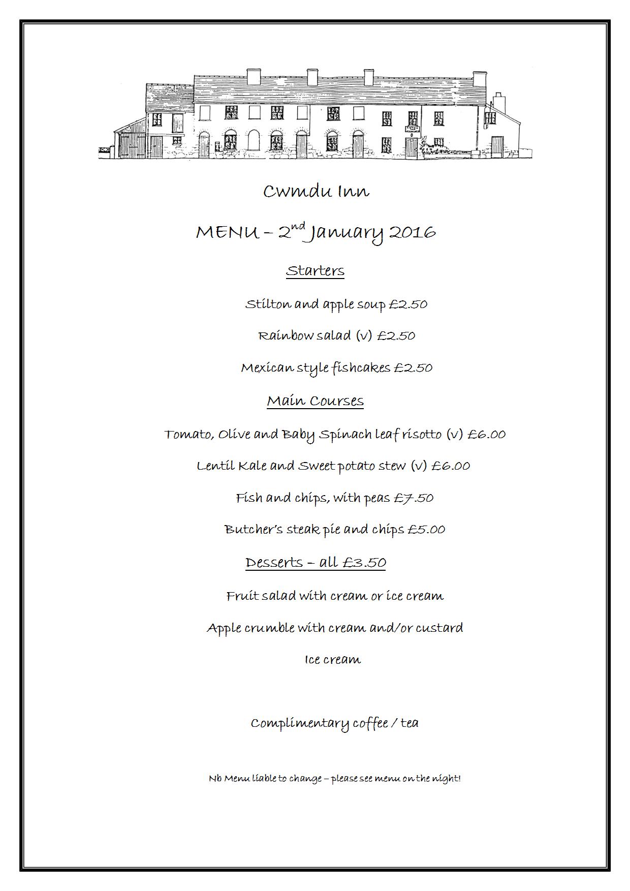 Menu20160102