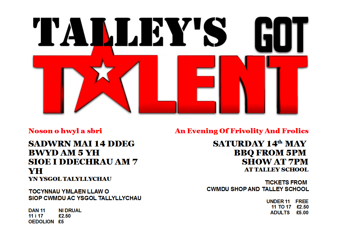 Talleys got Talent 2nd