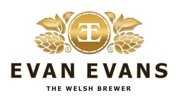 Beer from Evan Evans at the Cwmdu Beer Festival