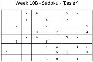 Week 10B Sudoku