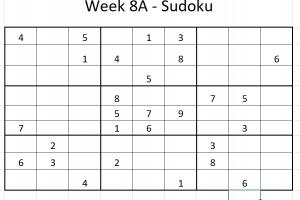 Week 8A Sudoku