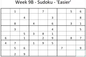 Week 9B Sudoku