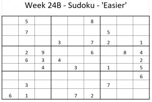 Week 24B Sudoku.