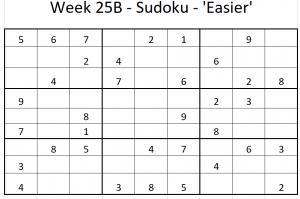 Week 25B Sudoku