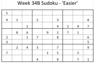 Week 34B Sudoku