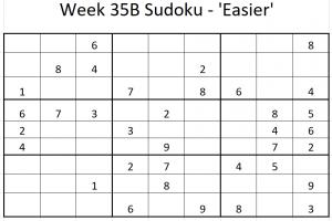 Week 35B Sudoku