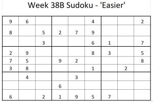 Week 38B Sudoku