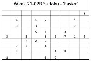 Week 21-02B Sudoku
