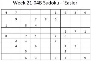 Week 21-04B Sudoku