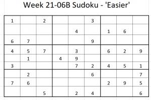 Week 21-06B Sudoku