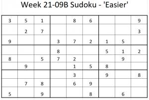 Week 21-09B Sudoku