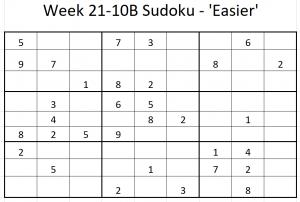 Week 21-10B Sudoku