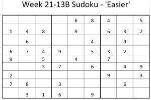 Week 21-13B Sudoku