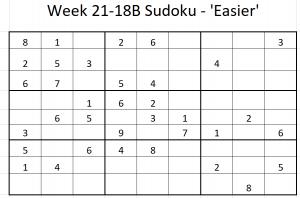Week 21-18B Sudoku
