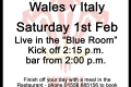 200201 Rugby Guinness 6 nations Wales Italy